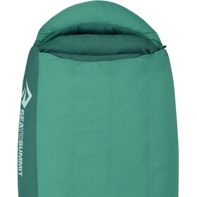 Sea to Summit Journey JoI Sac de couchage Long Femme, peacock/emerald